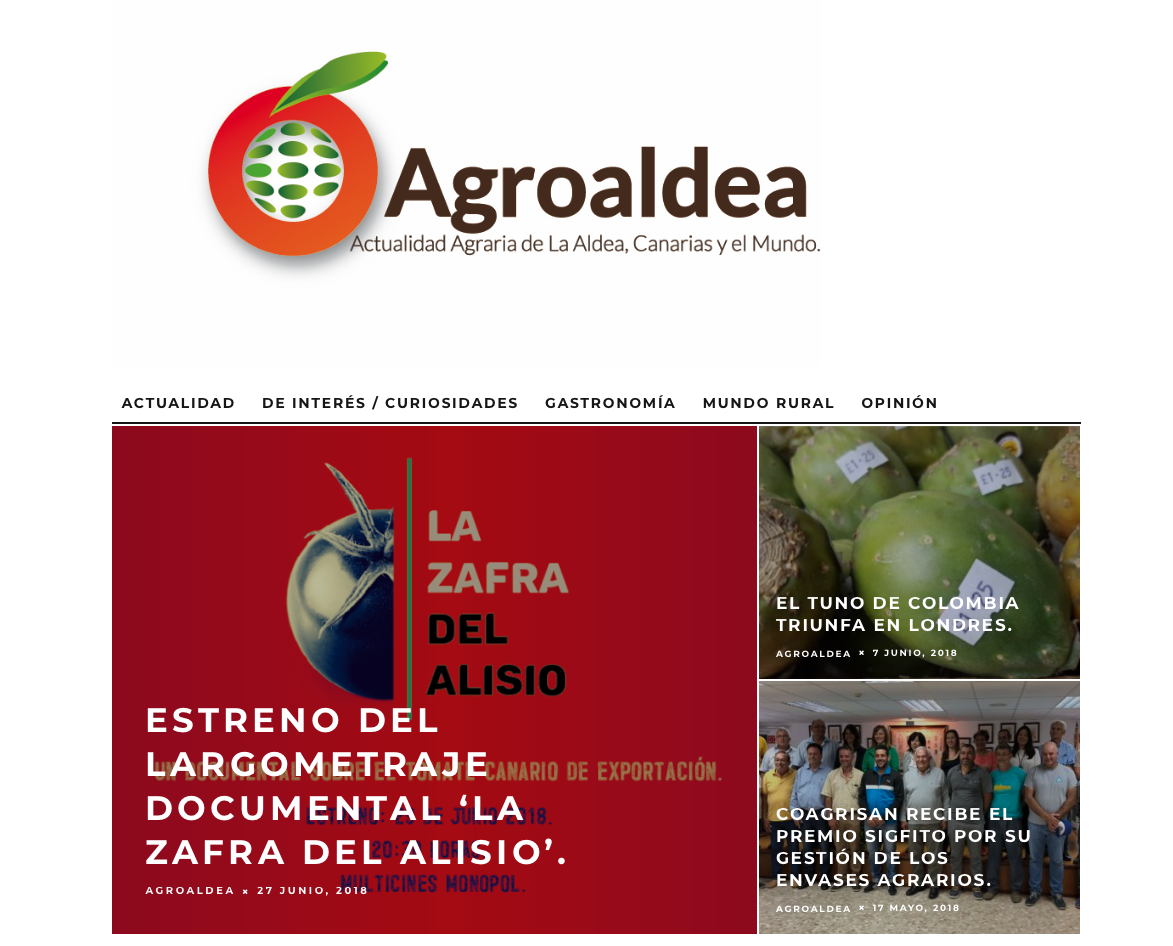 web agroaldea