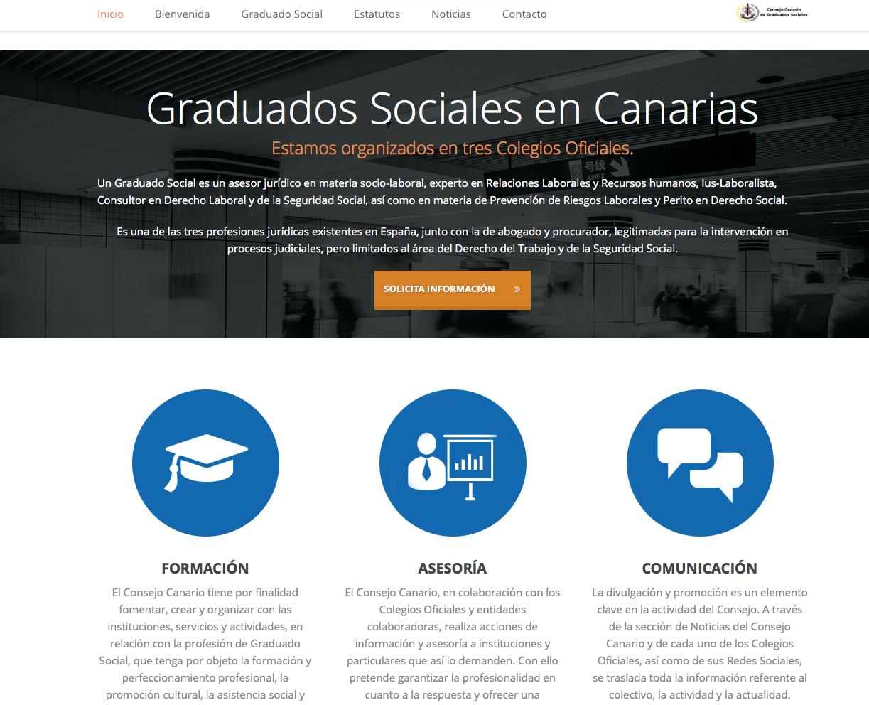 web consejo canario gs 2